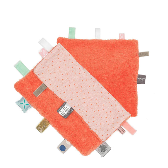 Snoozebaby - Sweet Dreaming Cuddle Cloth - Sunset Coral