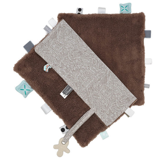 Snoozebaby - Sweet Dreaming Cuddle Cloth - Forest Brown