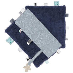 Snoozebaby - Sweet Dreaming Cuddle Cloth - Midnight Blue