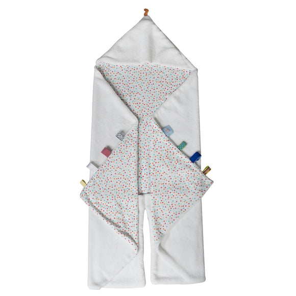 Snoozebaby - Trendy Wrapping Wrap Blanket - Confetti White