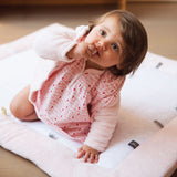 Snoozebaby - Cheerful Playing Playmat - Orchid Blush