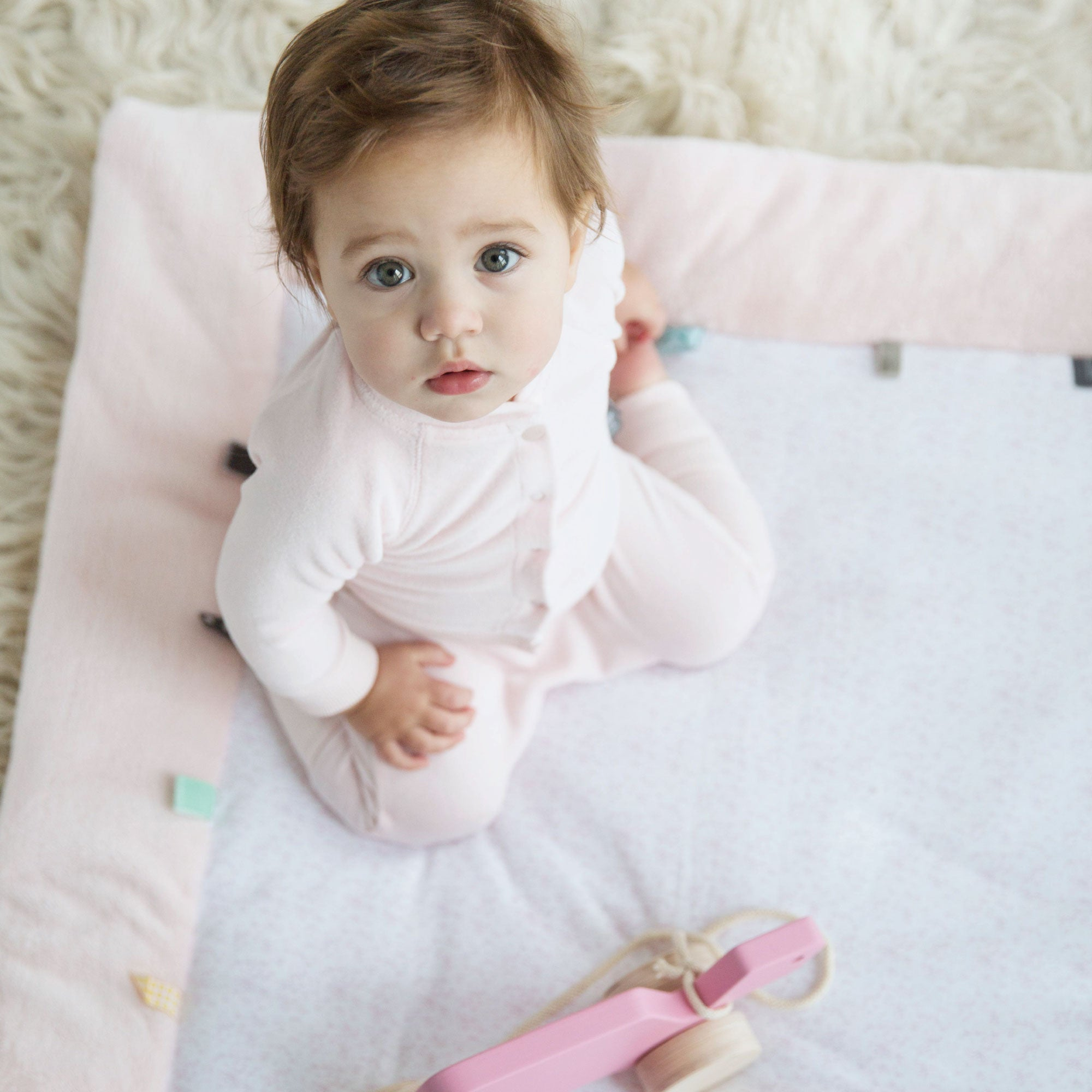 Snoozebaby Cheerful Playing Playmat Orchid Blush