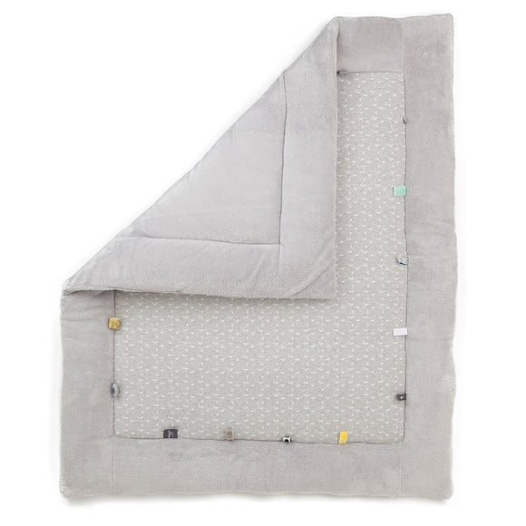 Snoozebaby - Cheerful Playing Playmat - Lovely Grey