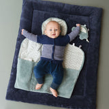 Snoozebaby - Cheerful Playing Playmat - Midnight Blue