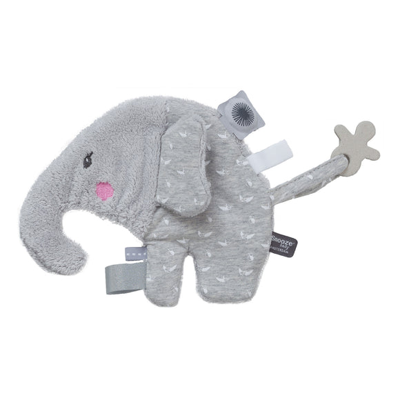 Snoozebaby Sensory Cuddle Toy Elly Elephant