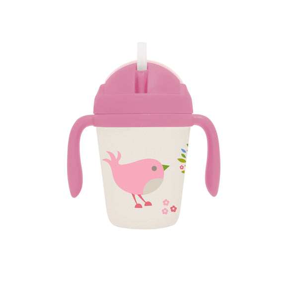 Penny Scallan Design - Bamboo Sippy Cup Chirpy Bird