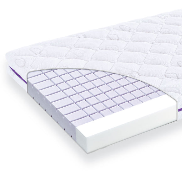 Traeumeland Breathable Cot Mattress - Moonshine (Various Sizes)