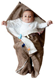 Snoozebaby - Trendy Wrapping Wrap Blanket - Camel Bubbles