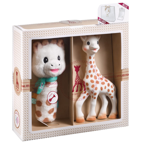 Sophie la girafe Sophiesticated Pouet Rattle Set