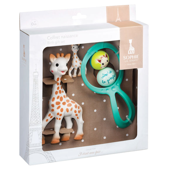 Sophie la girafe Rattle Newborn Set