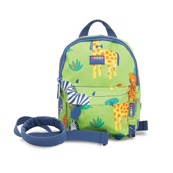 Penny Scallan Design - Mini Backpack School with Rein - Wild Thing