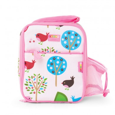 Penny Scallan Design - Bento Cooler Bag with Pocket - Chirpy Bird