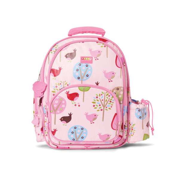 Penny Scallan Design - Large Backpack - Chirpy Bird