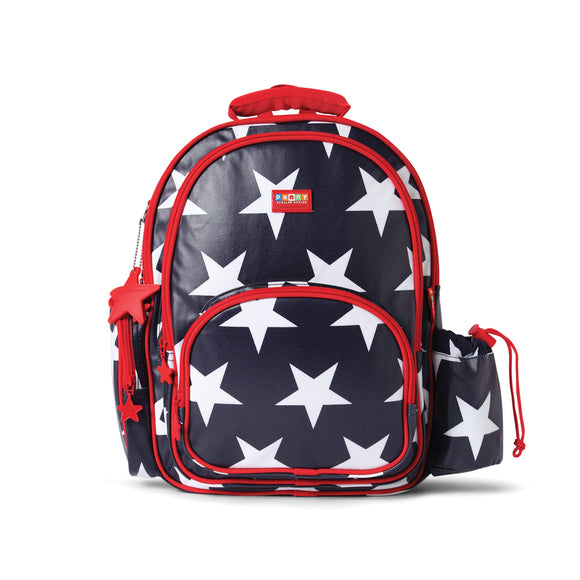 Penny Scallan Design - Large Backpack - Navy Star