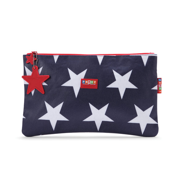 Penny Scallan Design Multi-purpose Wallet - Navy Star