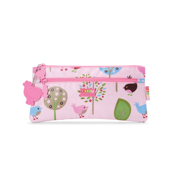 Penny Scallan Design Pencil Case - Chirpy Bird