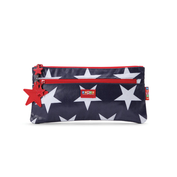 Penny Scallan Design Pencil Case - Navy Star