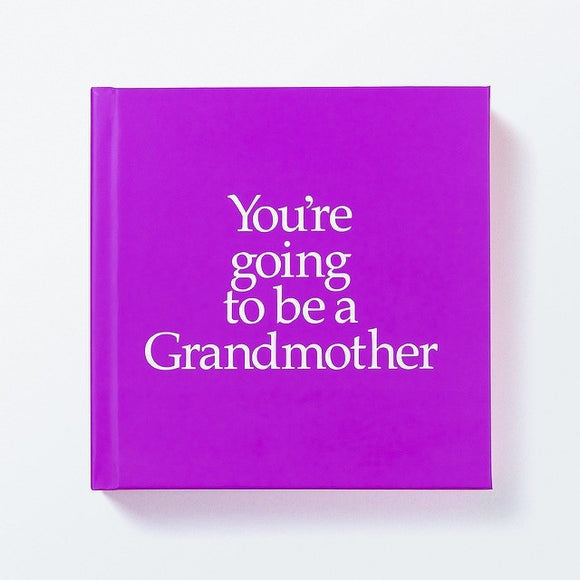 You're Going to be a Grandmother Book & Gift