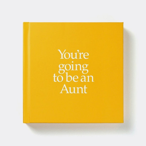 You're Going to be a Aunt Book & Gift