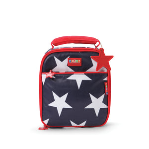 Penny Scallan Design - School Lunch Box - Navy Star