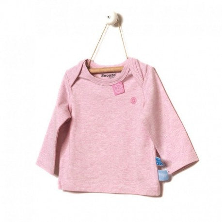 Snoozebaby - Long Sleeve Shirt - Pink Melange