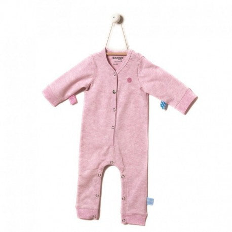 Snoozebaby - Long Sleeve Suit - Pink Melange