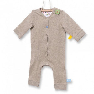 Snoozebaby - Long Sleeve Suit - Taupe Melange