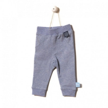 Snoozebaby - Pants - Blue Melange