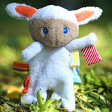 Pacifier Holder - Mak the Cuddling Lamb