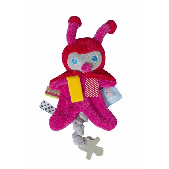 Pacifier Holder - Zuby the Cuddling Ladybug