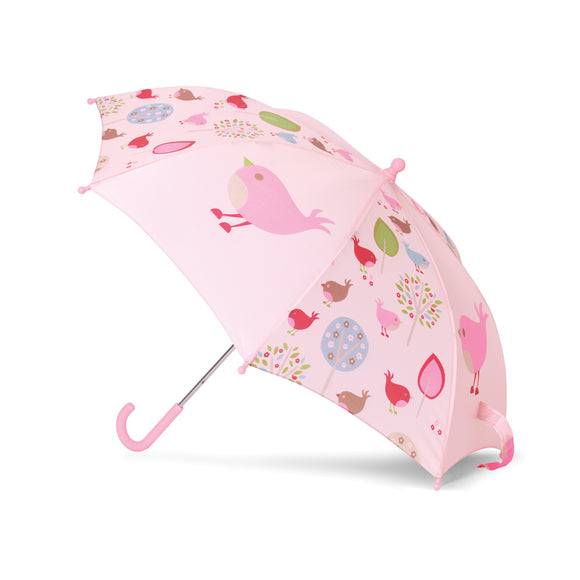 Penny Scallan Design Children's Umbrella - Chirpy Bird
