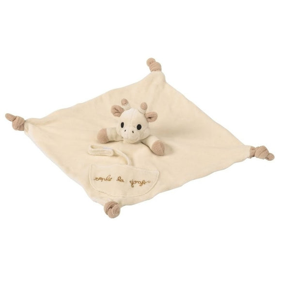Sophie the Giraffe So'Pure comforter (with pacifier holder)