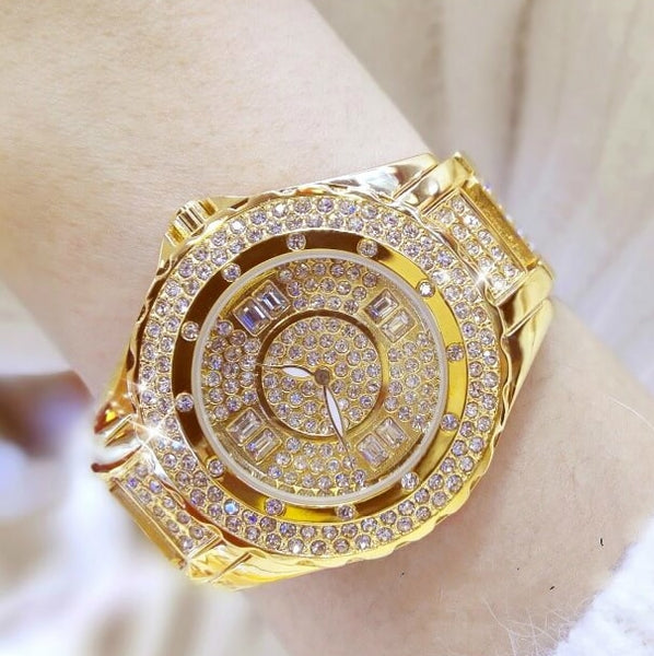 Bling Rhinestone Women's Watches- colorulife.com