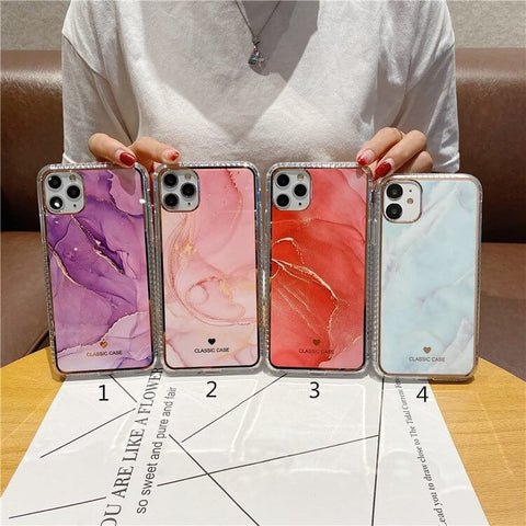 Marble iPhone 12, 12 Mini, 12 Pro and iPhone 12 Pro Max Case