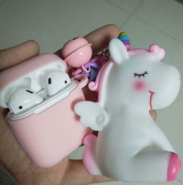 Cute Unicorn Airpod 1/2 Airpods Pro Case Cover