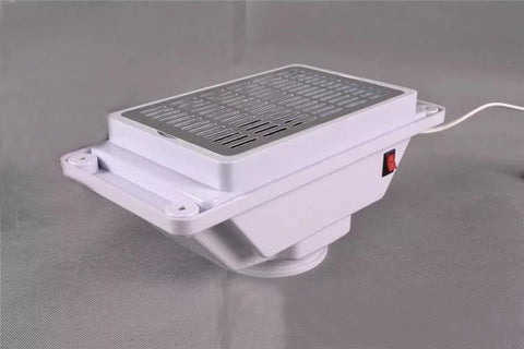 Professional Nail Dust Collector Of Manicure Table- colorulife.com