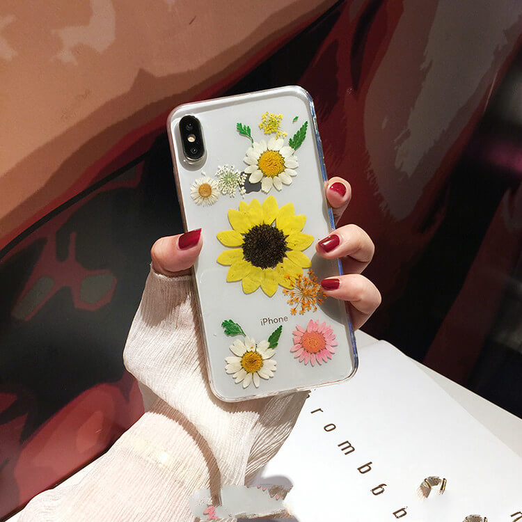 Pressed Flower iPhone XS Max Protective Cases