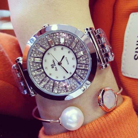 Rhinestone Decorated Women's Watches-colorulife.com