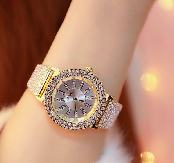 Fashionable Rhinestone Women's Watches- colorulife.com