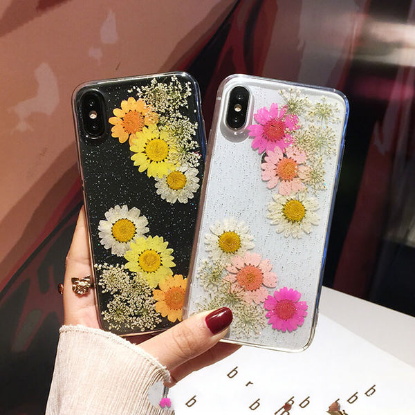 New Design Pressed Flower iPhone Cases - colorulife.com