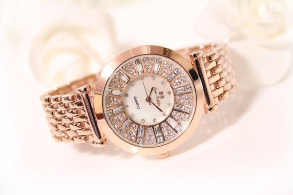 Rhinestone Decorated Women's Watches -colorulife.com