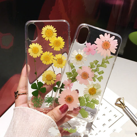 Pressed Flower iPhone XS Max Case -Colorulife.com