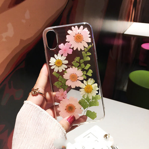 Pressed Flower iPhone XR Case