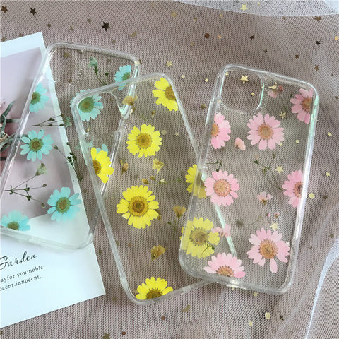 Press Flower iPhone 12 Mini Case