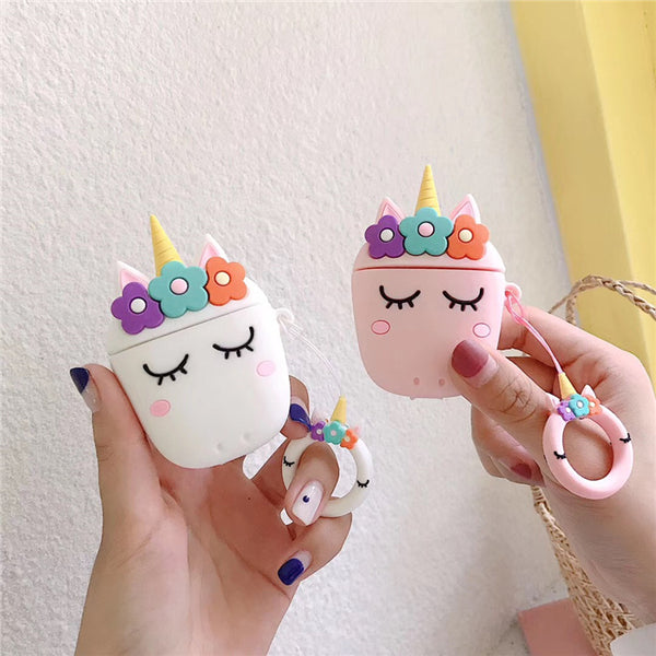 Cute Unicorn Airpods Case Cover