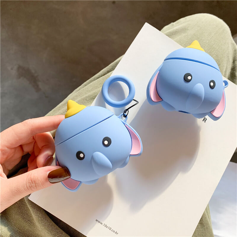 Cute Elephant Airpods Pro Case