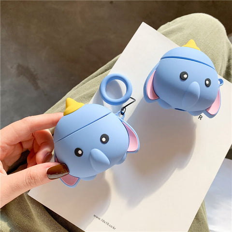 Cute Elephant Airpod Case
