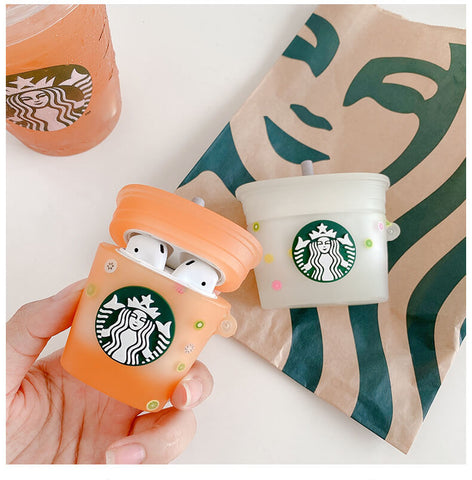Starbucks  Juice Airpod Case Aesthetic