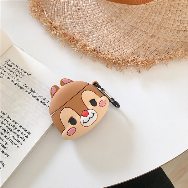 Cute Squirrel Animal Airpods Case Cover