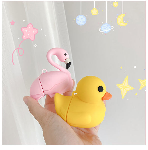 Flamingo / Duck Airpod Case
